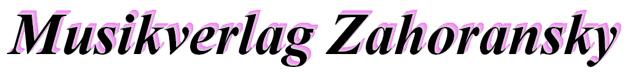 Musikverlag Zahoransky Logo