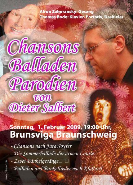 Dieter Salbert: Chansonso - Balladene - Parodien